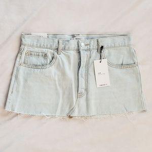Forever 21 Light Denim Jean Mini Skirt